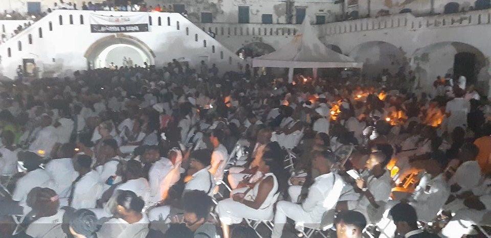 Massive Number of African Descendants visit Cape-Coast