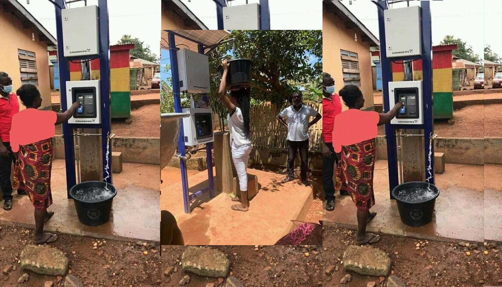 Ghana Launch Public Water Vending Machine Which Works With ATM ...